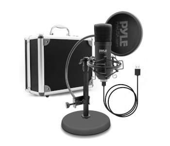 Pyle USB Podcast Mic Recording Kit