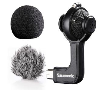 Saramonic G-Mic Stereo Ball Mic for GoPro HEROs