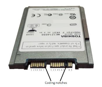 Serial ATA Storage Drive