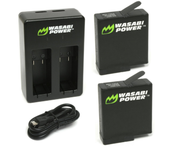 Wasabi Power Battery & Dual Charger