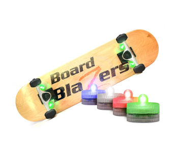 BOARDBLAZERS LED UNDERGLOW LIGHTS FOR SKATEBOARDS