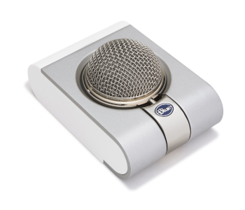 Blue Snowflake Plug-n-Play USB Microphone