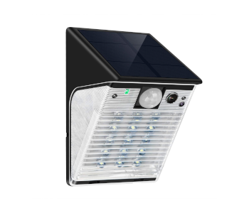 ENSTER Solar-Powered Security Camera with Floodlight
