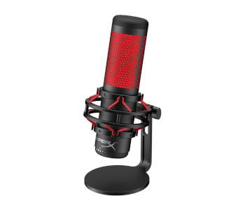 HyperX QuadCast USB 4 Polar Pattern Condenser Gaming Mic