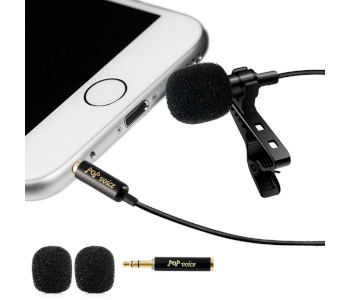 PoP Voice Professional Lavalier Lapel Mic