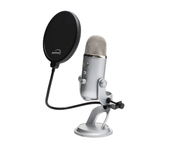 Universal Pop Filter for Blue Yeti Mics & Others