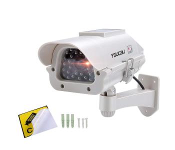 YSUCAU Solar-Powered CCTV Fake Dummy Camera