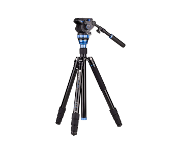 BENRO AERO 7 ALUMINUM TRAVEL VIDEO TRIPOD