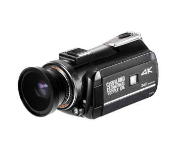 Cleveland Paranormal Supply 4K Camcorder