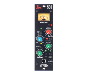 DBX 580 Professional Compact Mic Preamp