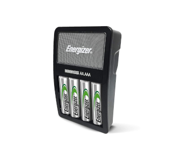 Energizer AA Rechargeable Batteries with Charger