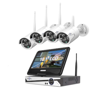 Hiseeu Expandable Wireless Security Camera System