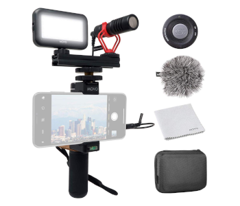 Movo Smartphone Shotgun Mic V1 Video Kit