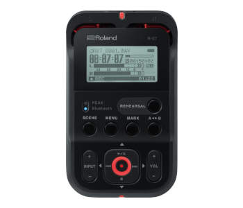 Roland Black High-Res Handheld Audio Recorder