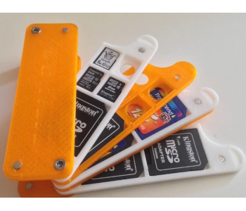 SD card and microSD card holder