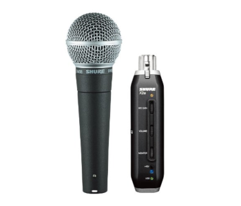 Shure SM58-X2U Dynamic Vocal XLR-USB Mic