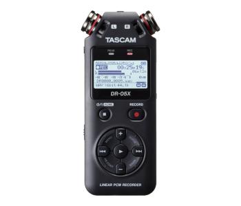 Tascam Stereo DR-05 X Digital Audio Recorder