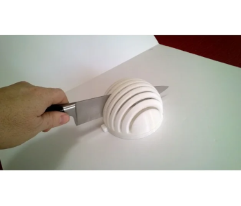 Veggie slicer bowl