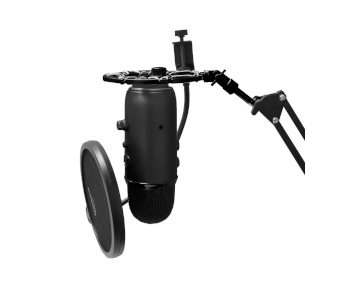 AUPHONIX BLACK SHOCK MOUNT FOR BLUE YETI AND SNOWBALL