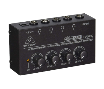 Behringer Ultra-Compact 4CH Headphone Amp