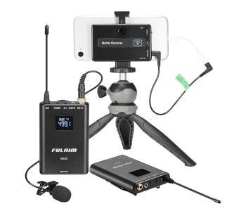 FULAIM MX20 Wireless Lavalier Mic for DSLR