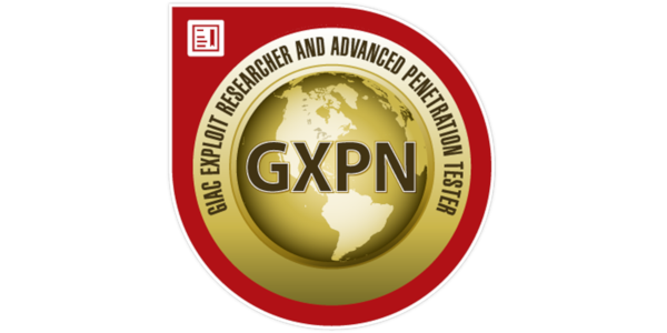 GXPN (GIAC Exploit Researcher & Advanced Penetration Tester)