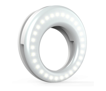 QIAYA LED SELFIE RING LIGHT FOR SMARTPHONE PHOTOGRAPHY