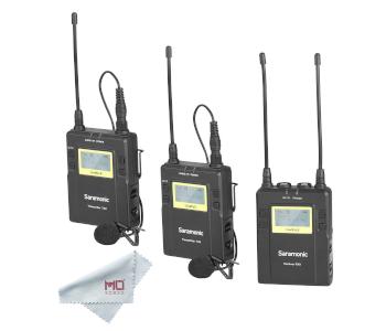 Saramonic UWMIC9 RX9 + TX9 + TX9, Pro Lav