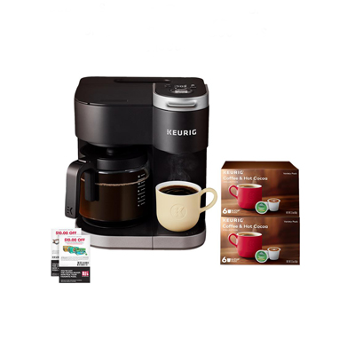 Keurig K-Duo Coffee Maker + $20 OFF Your Next Purchase