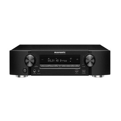Marantz NR1510 UHD AV Receiver (2019 Model) – Slim 5.2 Channel Home Theater Amplifier