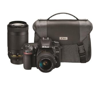 Nikon D7500 with 2 lenses