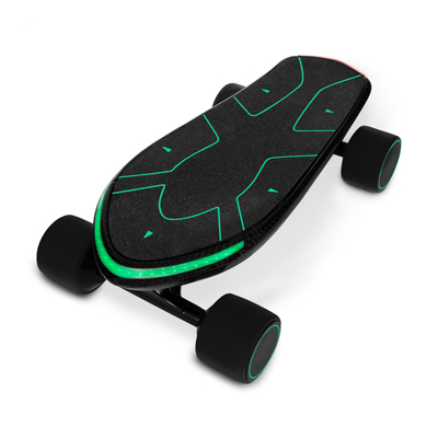 Swagtron Spectra Pro Small Electric Penny Skateboard