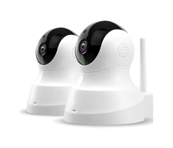 TENVIS Full 360° 2-Way Wireless Security Cameras