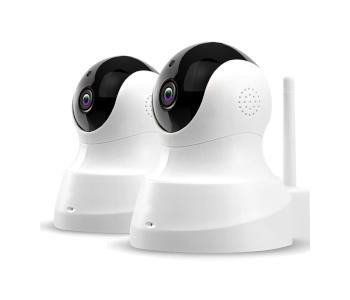 TENVIS Full 360° 2-Way Wireless Security Cameras