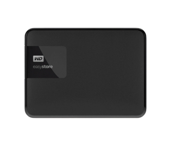 WD - Easystore 5TB External USB 3.0 Portable Hard Drive - Black