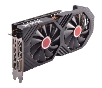 XFX RADEON RX 580 GTS XXX EDITION 1386MHZ OC+ 8GB GDDR5 VR READY GRAPHICS CARD