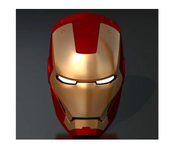Iron Man Wearable Helmet