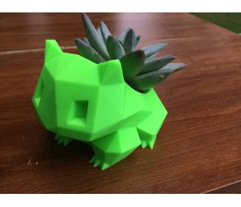 Low Poly Bulbasaur Planter