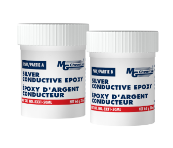 MG Chemicals 2-Part Silver Epoxy Adhesive