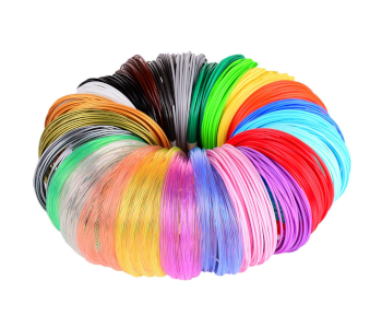 MIKA3D 1.75mm PLA Filament Pack with 24 Different Colors