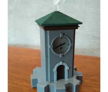 Myst Clock Tower Lamp