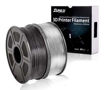 SUNLU ABS Filament 1.75mm Black and Transparent
