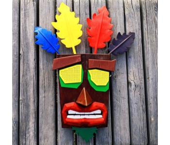 Wearable Aku Aku Mask