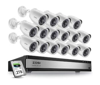 ZOSI Security Camera System W/ TVI DVR