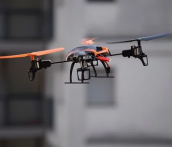 drone flying low