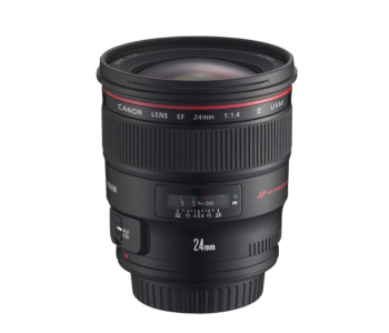 Canon 24mm f/1.4 L II USM Wide-Angle Prime