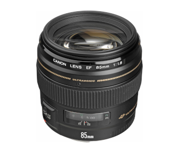 Canon EF 85 mm F/1.8, USM Fixed Lens