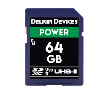 Delkin Devices 64GB Power SDXC UHS-II