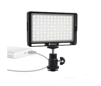 Moman Compact On-Camera LED Video Light