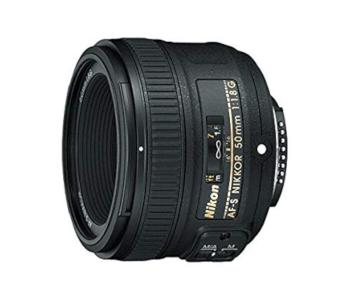 Nikon AF-S FX NIKKOR 50mm f/1.8G w/ Auto Focus